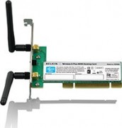 Belkin F5D9000 Wireless G Plus MIMO Desktop Card